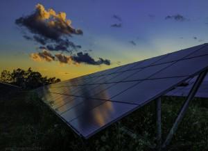 Community Solar Panel.