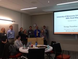 Sun Delegation Students Presenting Campus Roadmap