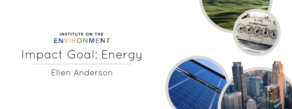 Ellen Anderson Presents: Carbon Neutral Minnesota – IonE Impact Goal